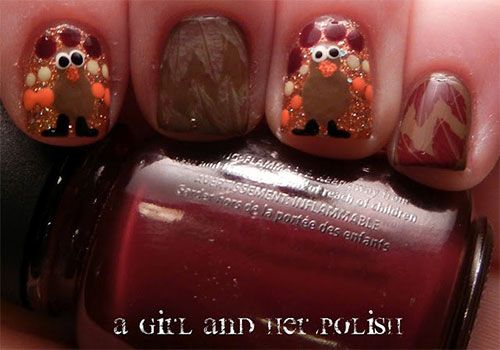 Creative-Thanksgiving-Nail-Art-Deigns-Ideas-2013-2014-9