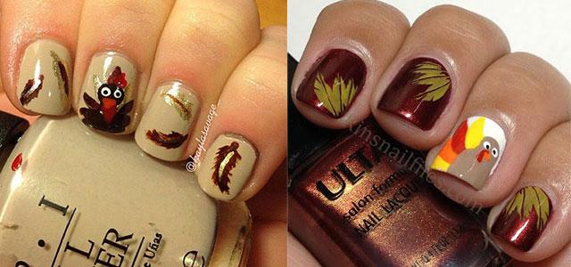 Creative-Thanksgiving-Nail-Art-Deigns-Ideas-2013-2014