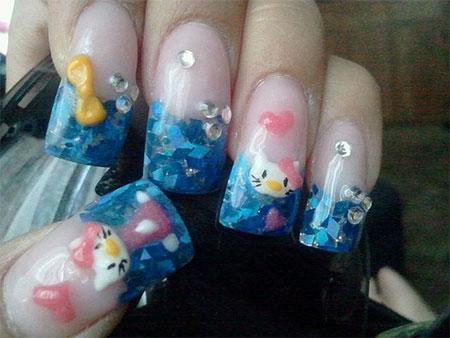 Cute-Hello-Kitty-Nail-Art-Designs-Ideas-2013-2014-11