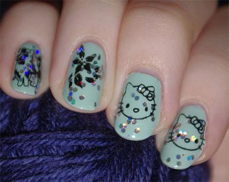 Cute-Hello-Kitty-Nail-Art-Designs-Ideas-2013-2014-12