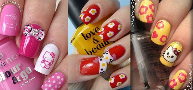 Cute-Hello-Kitty-Nail-Art-Designs-Ideas-2013-2014
