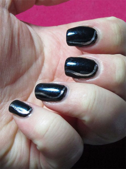 Easy-Black-Nail-Art-Designs-Ideas-2013-2014-3