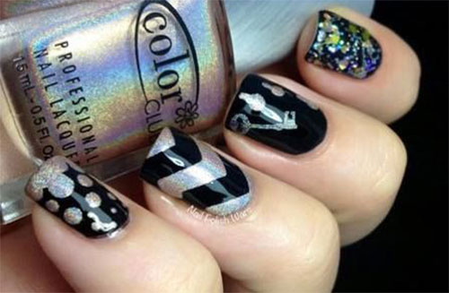 Easy-Black-Nail-Art-Designs-Ideas-2013-2014-4