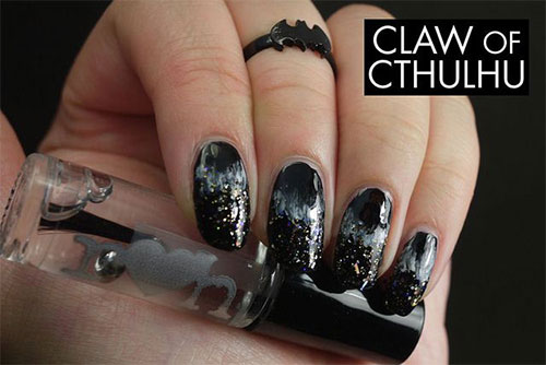 Easy-Black-Nail-Art-Designs-Ideas-2013-2014-7