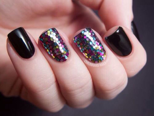 Easy-Black-Nail-Art-Designs-Ideas-2013-2014-9