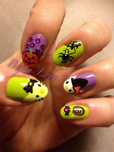 Easy-Hello-Kitty-Nail-Art-Designs-Ideas-Stickers-2013-2014-3D-Nails-7