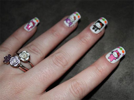 Easy-Hello-Kitty-Nail-Art-Designs-Ideas-Stickers-2013-2014-3D-Nails-9