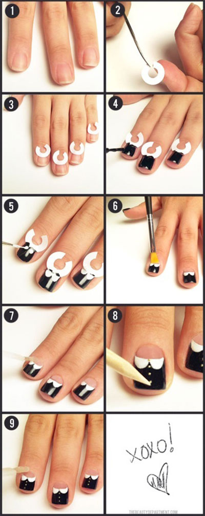 Easy-Nail-Art-Tutorial-2013-2014-For-Beginners-Learners-1