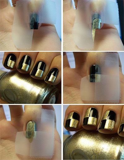 Easy-Nail-Art-Tutorial-2013-2014-For-Beginners-Learners-4