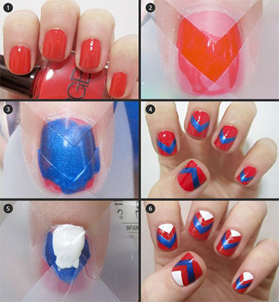 Easy-Nail-Art-Tutorial-2013-2014-For-Beginners-Learners-6