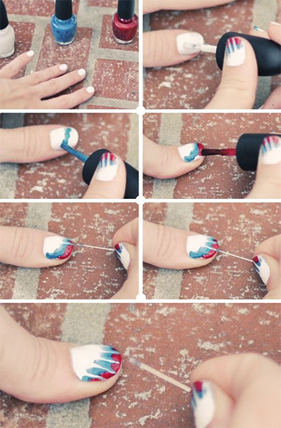 Easy-Nail-Art-Tutorial-2013-2014-For-Beginners-Learners-7