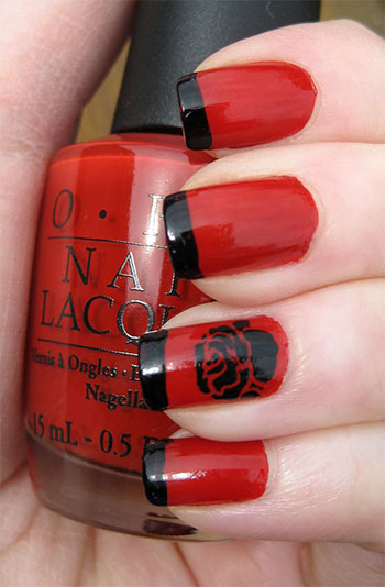 Easy-Red-Nail-Art-Designs-Ideas-For-Girls-2013-2014-1