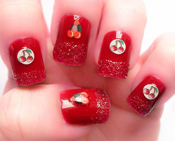 Easy-Red-Nail-Art-Designs-Ideas-For-Girls-2013-2014-10