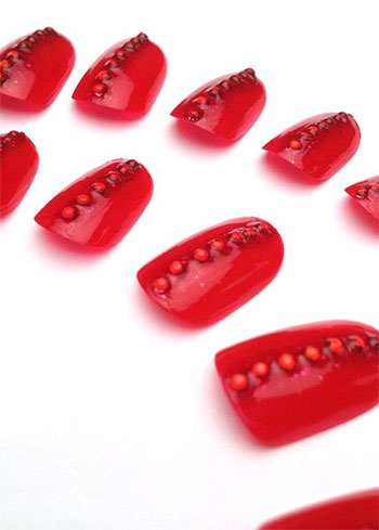 Easy-Red-Nail-Art-Designs-Ideas-For-Girls-2013-2014-15