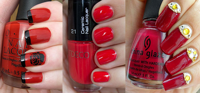 Easy-Red-Nail-Art-Designs-Ideas-For-Girls-2013-2014