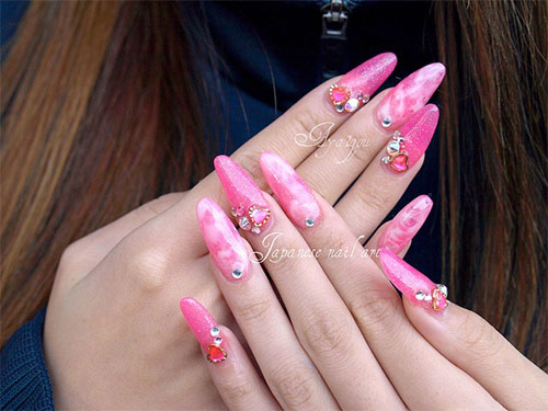 Inspiring-Pink-Nail-Art-Designs-Ideas-2013-2014-13