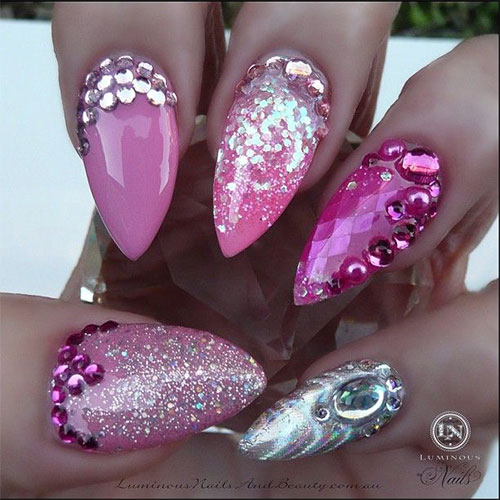 Inspiring-Pink-Nail-Art-Designs-Ideas-2013-2014-8