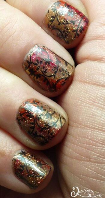 Latest-Autumn-Nail-Art-Designs-Trends-Fashion-For-Girl-2013-2014-1