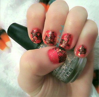 Latest-Autumn-Nail-Art-Designs-Trends-Fashion-For-Girl-2013-2014-5