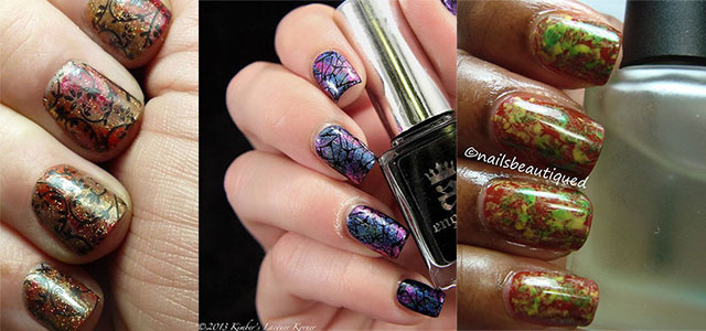 Latest-Autumn-Nail-Art-Designs-Trends-Fashion-For-Girl-2013-2014