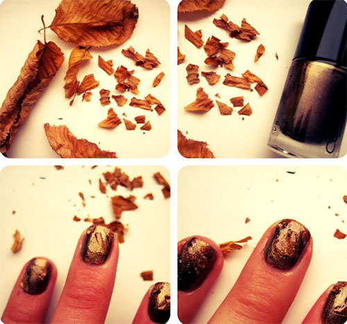 nail designs for fall 2014. creative fall nail art tutorials designs for 2014