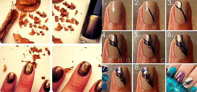 Latest-Autumn-Nail-Art-Tutorials-For-Girls-2013-2014