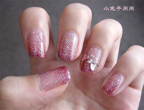 Pink-Nail-Art-Designs-Ideas-2013-2014-5