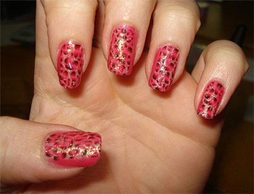 Pink-Nail-Art-Designs-Ideas-2013-2014-8