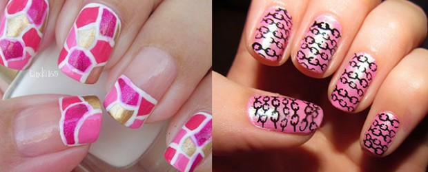 Pink Nail Art Designs Ideas 2013 2014