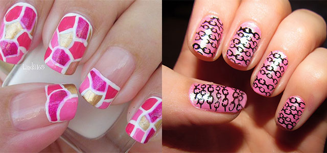 Pink-Nail-Art-Designs-Ideas-2013-2014