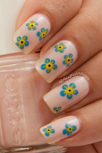 Simple-Easy-Flower-Nail-Art-Designs-Ideas-2013-2014-1