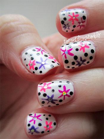 Simple-Easy-Flower-Nail-Art-Designs-Ideas-2013-2014-12