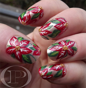 Simple-Easy-Flower-Nail-Art-Designs-Ideas-2013-2014-13