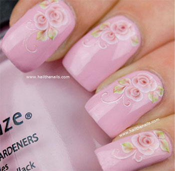 Simple-Easy-Flower-Nail-Art-Designs-Ideas-2013-2014-14