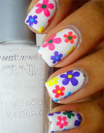 Simple-Easy-Flower-Nail-Art-Designs-Ideas-2013-2014-3