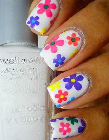 Simple-Easy-Flower-Nail-Art-Designs-Ideas-2013-2014-3