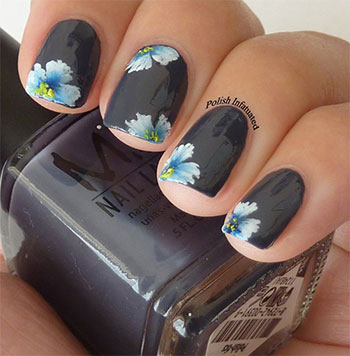 Simple-Easy-Flower-Nail-Art-Designs-Ideas-2013-2014-6