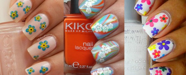 Simple-Easy-Flower-Nail-Art-Designs-Ideas-2013-2014