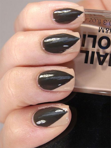 Very-Easy-Black-Nail-Art-Designs-Ideas-2013-2014-16