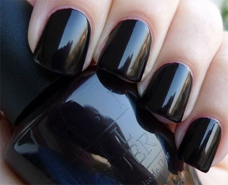 Very-Easy-Black-Nail-Art-Designs-Ideas-2013-2014-7