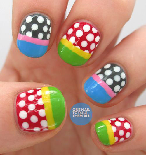 50-Amazing-Nail-Art-Designs-Ideas-For-Beginners-Learners-2013-2014-14