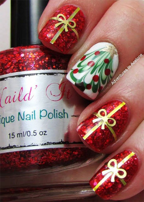 Amazing-Collection-Of-Christmas-Nail-Art-Designs-Ideas-2013-2014-1