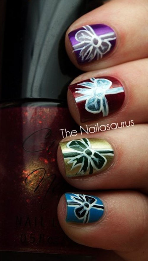 Amazing-Collection-Of-Christmas-Nail-Art-Designs-Ideas-2013-2014-2