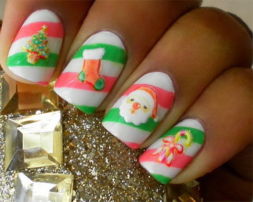 Amazing-Collection-Of-Christmas-Nail-Art-Designs-Ideas-2013-2014-5