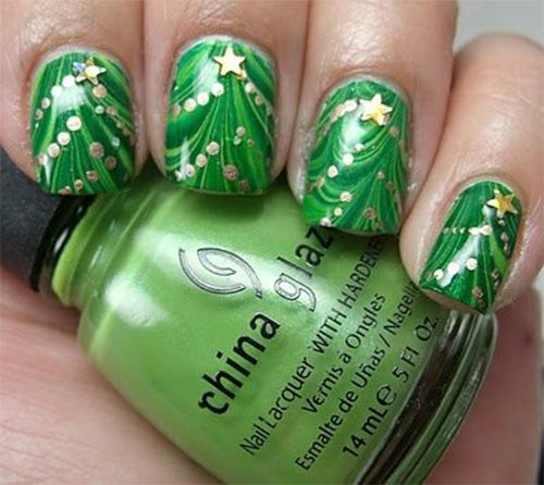 Amazing-Collection-Of-Christmas-Nail-Art-Designs-Ideas-2013-2014-7