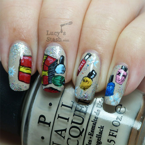 Amazing-Collection-Of-Christmas-Nail-Art-Designs-Ideas-2013-2014-9