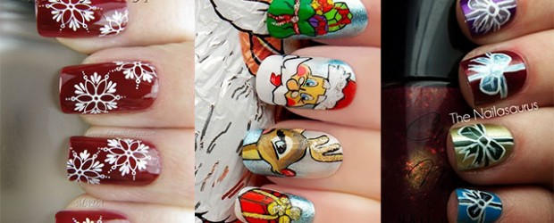 Amazing-Collection-Of-Christmas-Nail-Art-Designs-Ideas-2013-2014
