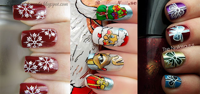 Amazing Collection Of Christmas Nail Art Designs Ideas 2017 Fabulous