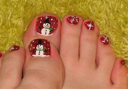 Amazing-Toe-Nail-Art-Designs-Ideas-For-Beginners-Learners-2013-2014-1