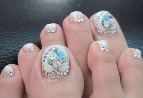 Amazing-Toe-Nail-Art-Designs-Ideas-For-Beginners-Learners-2013-2014-3